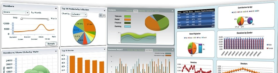 BI Reporting & Analytics - Turn raw data into reporting dashboards.